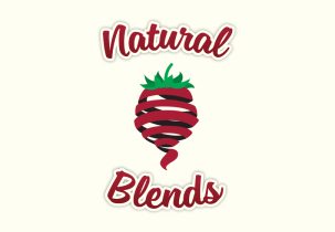 natural-blends-logo-design