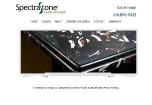 solid surface web design