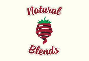 natural-blends-logo-design